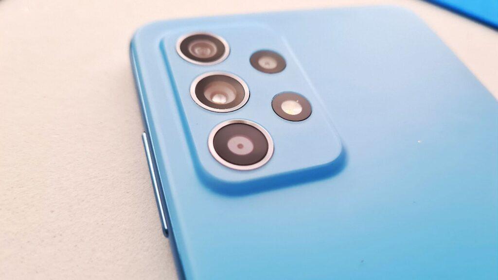 Samsung Galaxy A52 Review rear camera