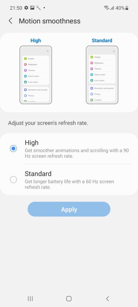 Samsung Galaxy A52 Review 90hz
