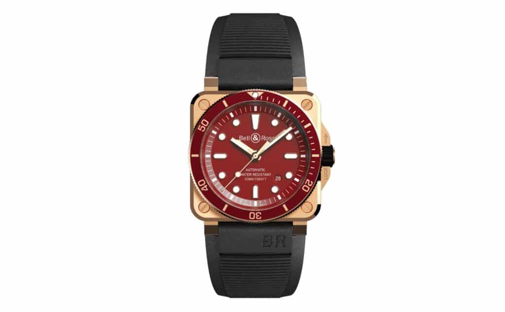 BR 03-92 Diver Red Bronze rubber
