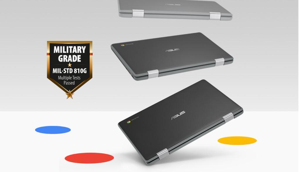 ASUS Chromebook Flip C214 built tough