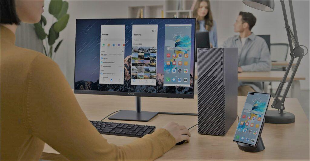 Huawei MateStation S smart pairing