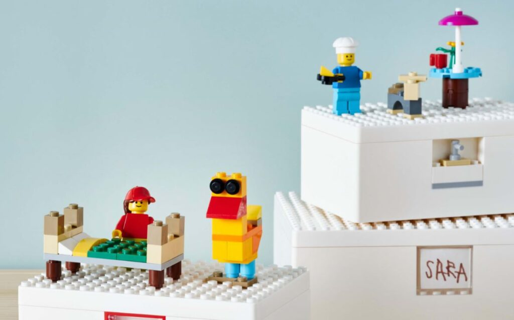 LEGO x Ikea Bygglek collection cover