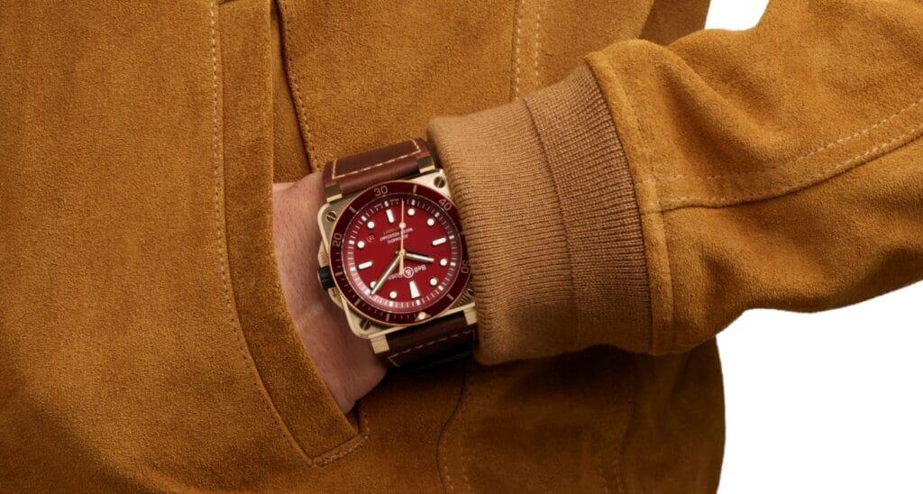 BR 03-92 Diver Red Bronze  jacket