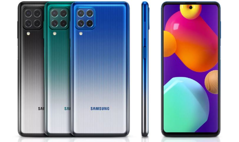 galaxy m62 colours