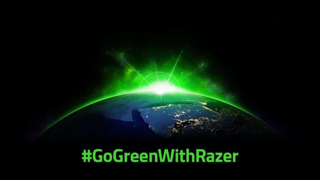 #GoGreenWithRazer logo