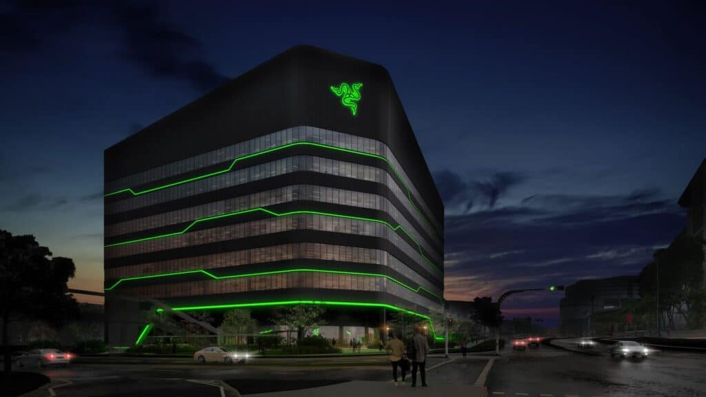 #GoGreenWithRazer sea hq