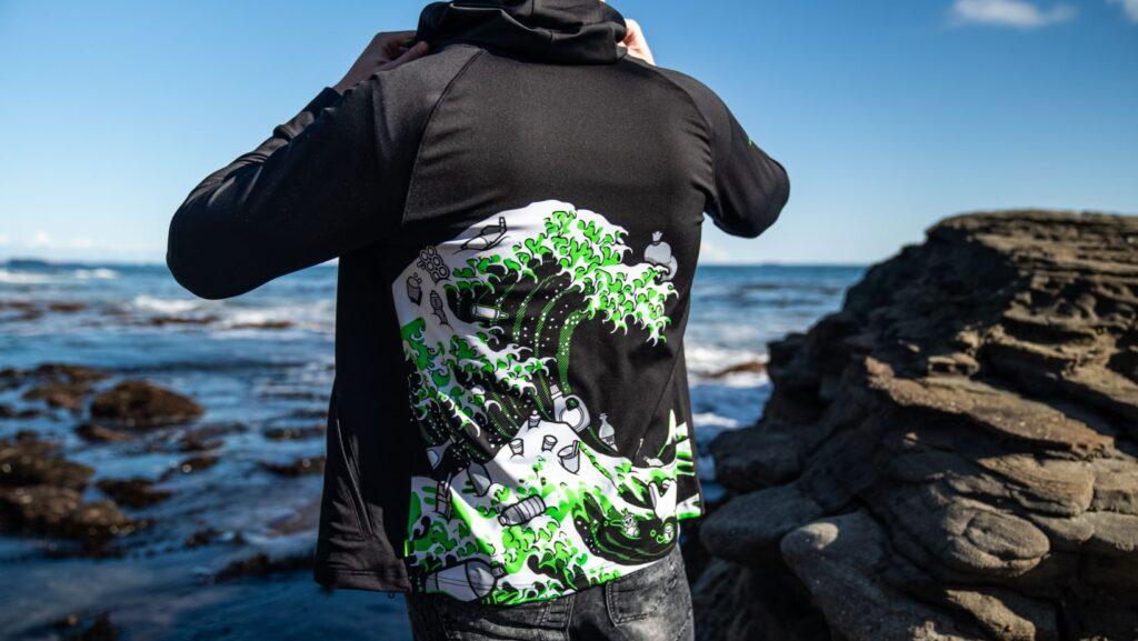 Razer Kanagawa Wave shirt rear