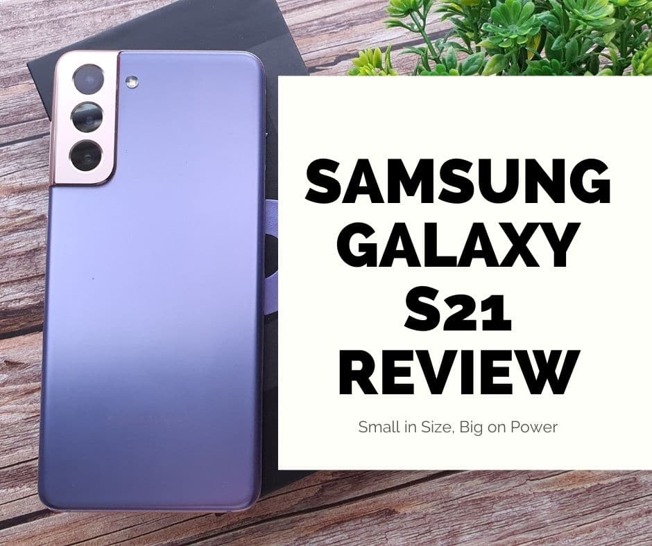 Galaxy S21 review box
