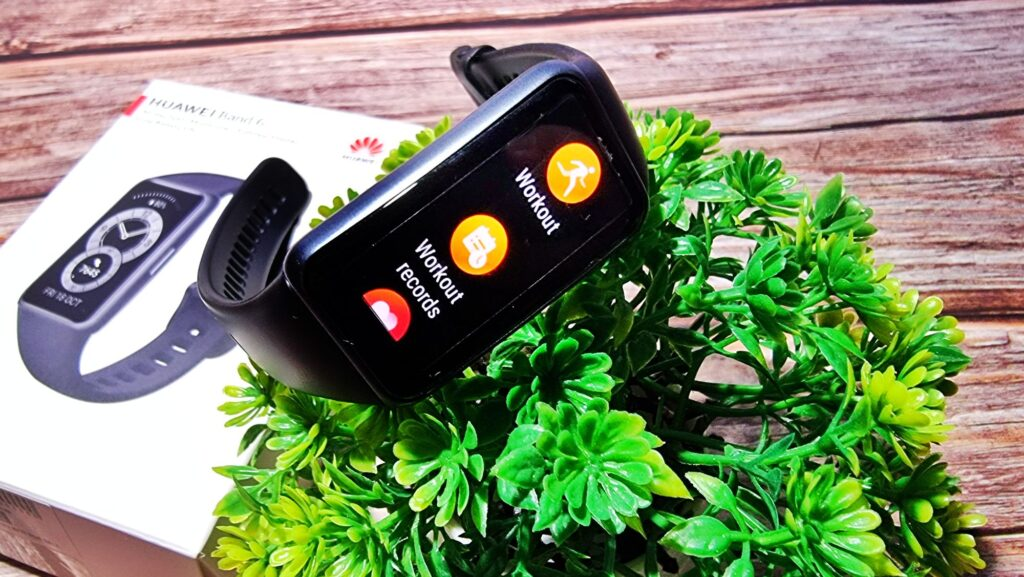 Huawei Band 6 Review fitness