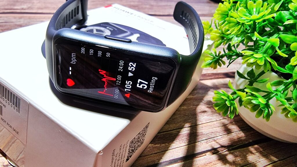 Huawei Band 6 Review heart rate