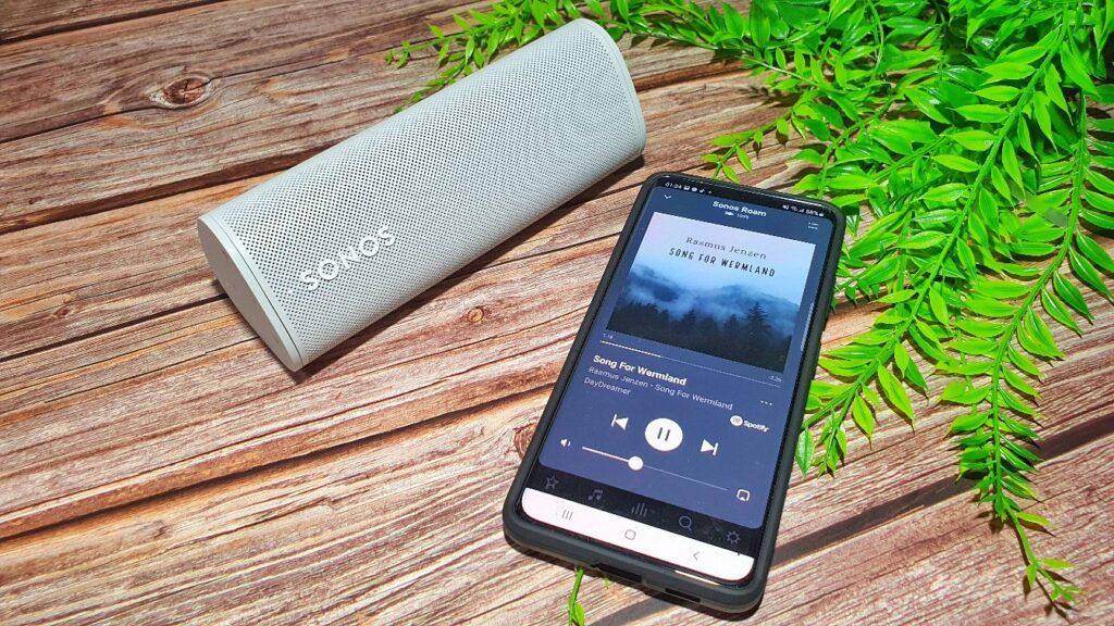 Sonos Roam Review music Spotify