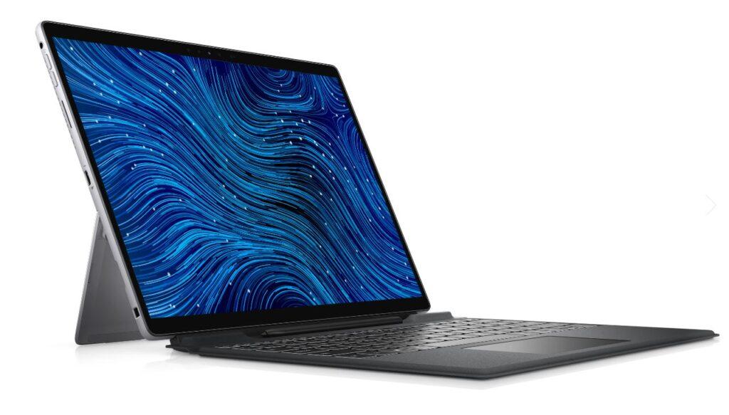 Dell Latitude 7320 detachable side angled
