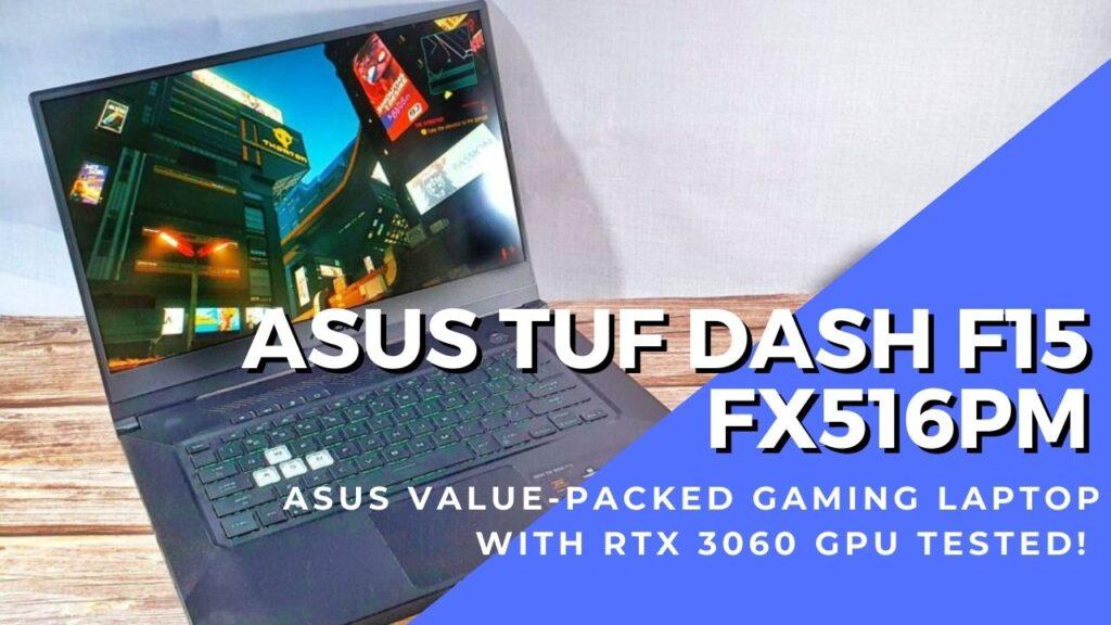 ASUS TUF Dash F15 FX516PM cover