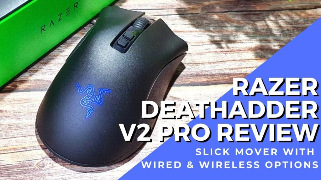 Razer DeathAdder V2 Pro Review - Awesomely Ahead of the Curve 1