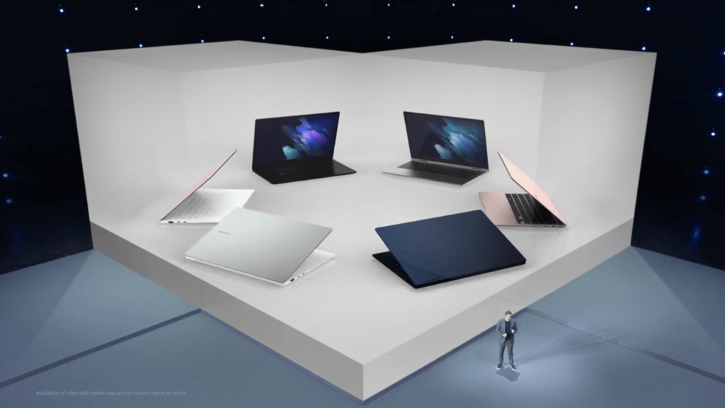 Samsung Galaxy Book, Galaxy Book Pro and Galaxy Book Pro 360 family
