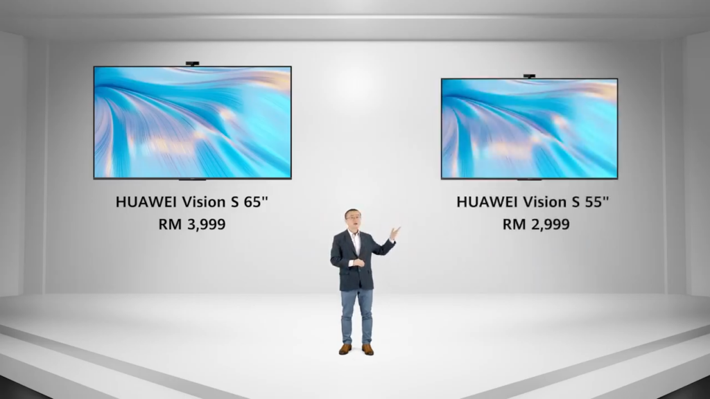 Huawei Vision S series smart screens prices
