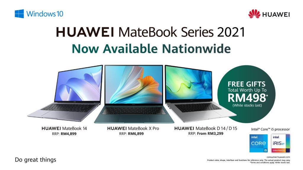 Huawei MateBook 2021 series cover call