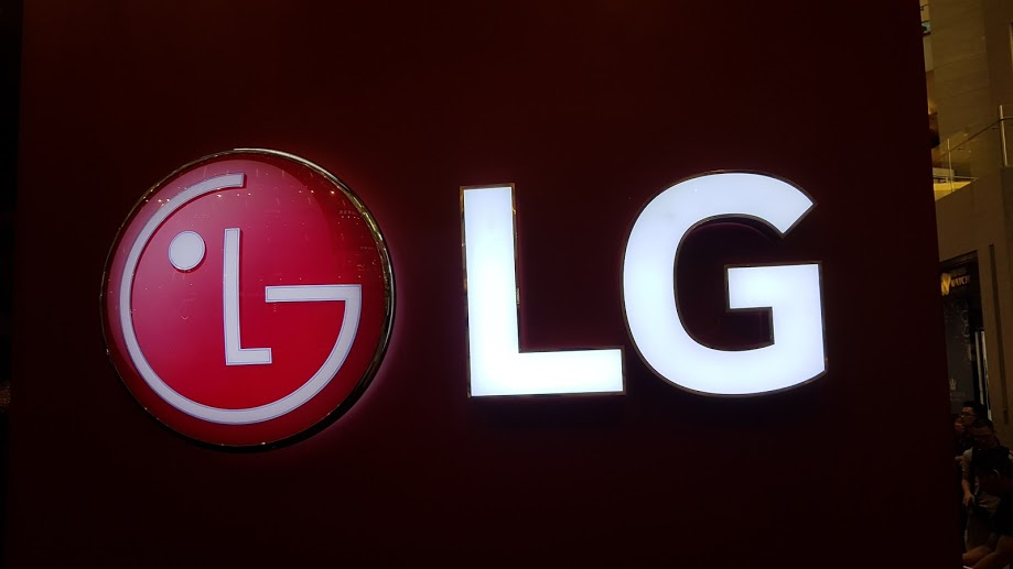 LG smartphone cover