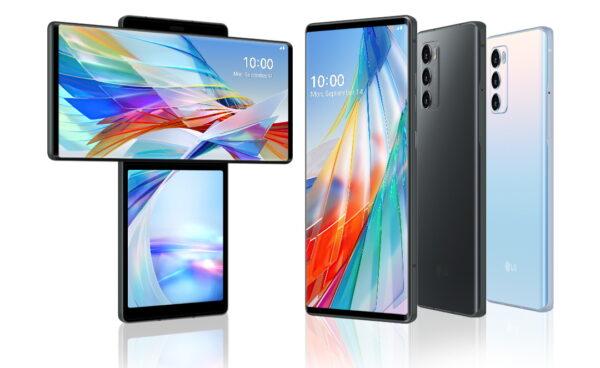 LG Wing, LG smartphones