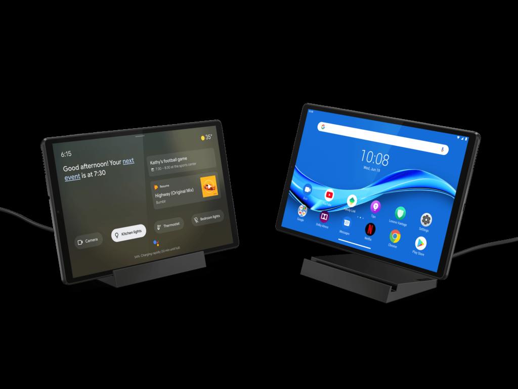 Lenovo Smart Tab M10 FHD Plus  with dock