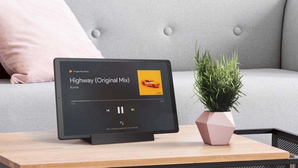 Lenovo Smart Tab M10 FHD Plus  living room
