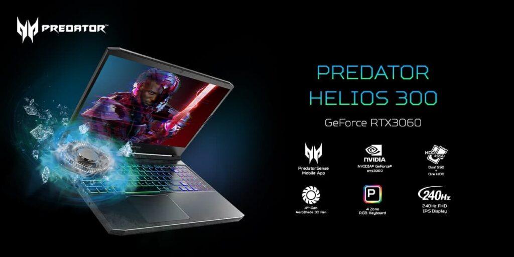 Acer Predator Helios 300 Nitro 5 2021
