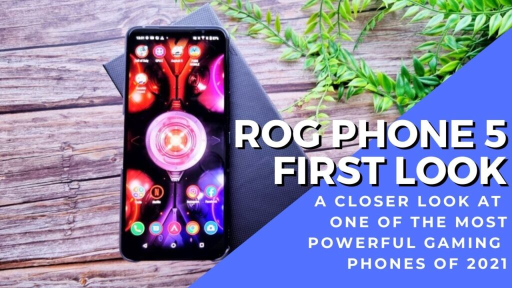 ROG Phone 5 first look cover