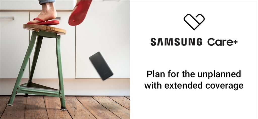 Samsung Care+ Covers Your Galaxy Smartphone from the elements; starts from RM55 yearly