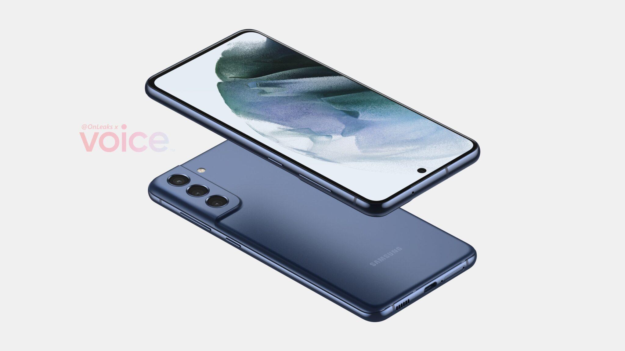 Samsung Galaxy S21 FE renders 2
