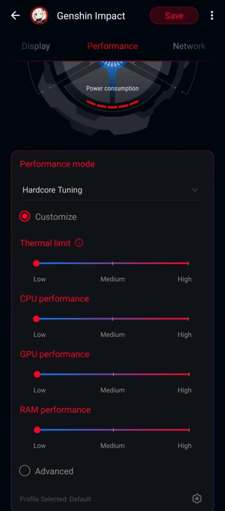 ROG Phone 5 Review - Performance mode 1
