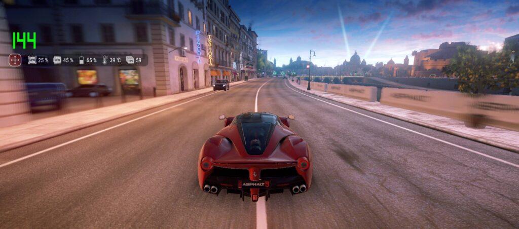 ROG Phone 5 Review asphalt 9