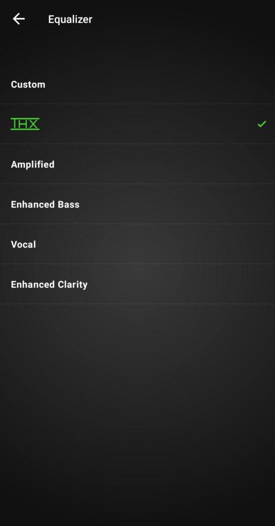 Razer Hammerhead True Wireless Pro settings