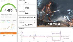 Dell Latitude 7320 2-in-1 Review 3dmark fire strike