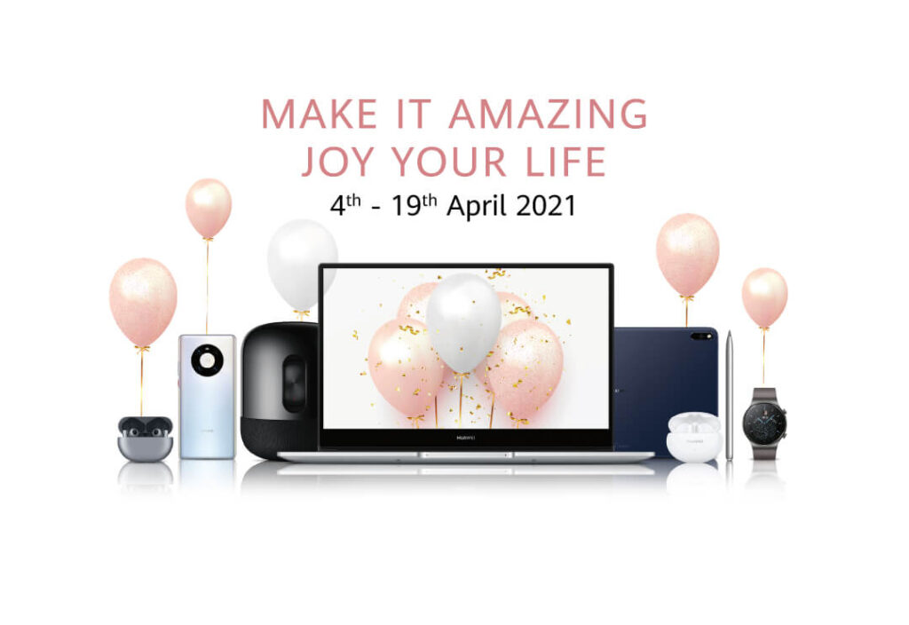 Huawei Make it Amazing 2021 cover