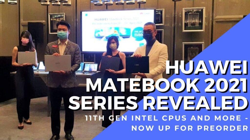 huawei matebook 2021 series cover