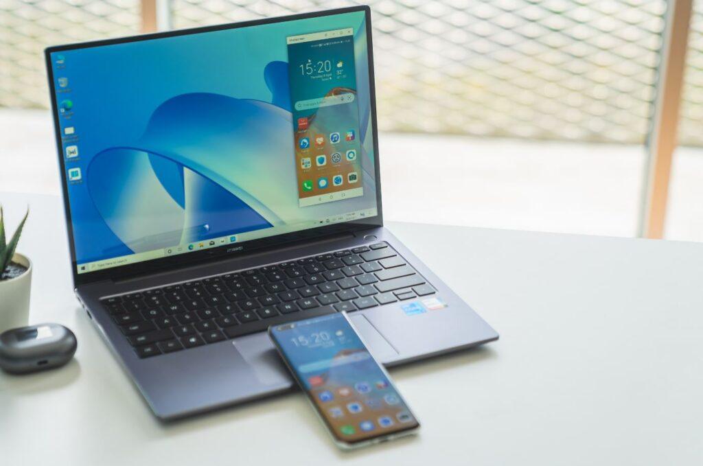 Huawei MateBook 2021 series multi screen collaboration