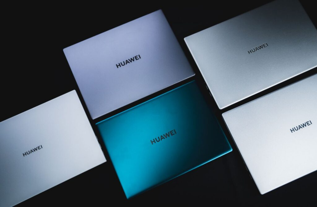 Huawei MateBook 2021 series lid closed
