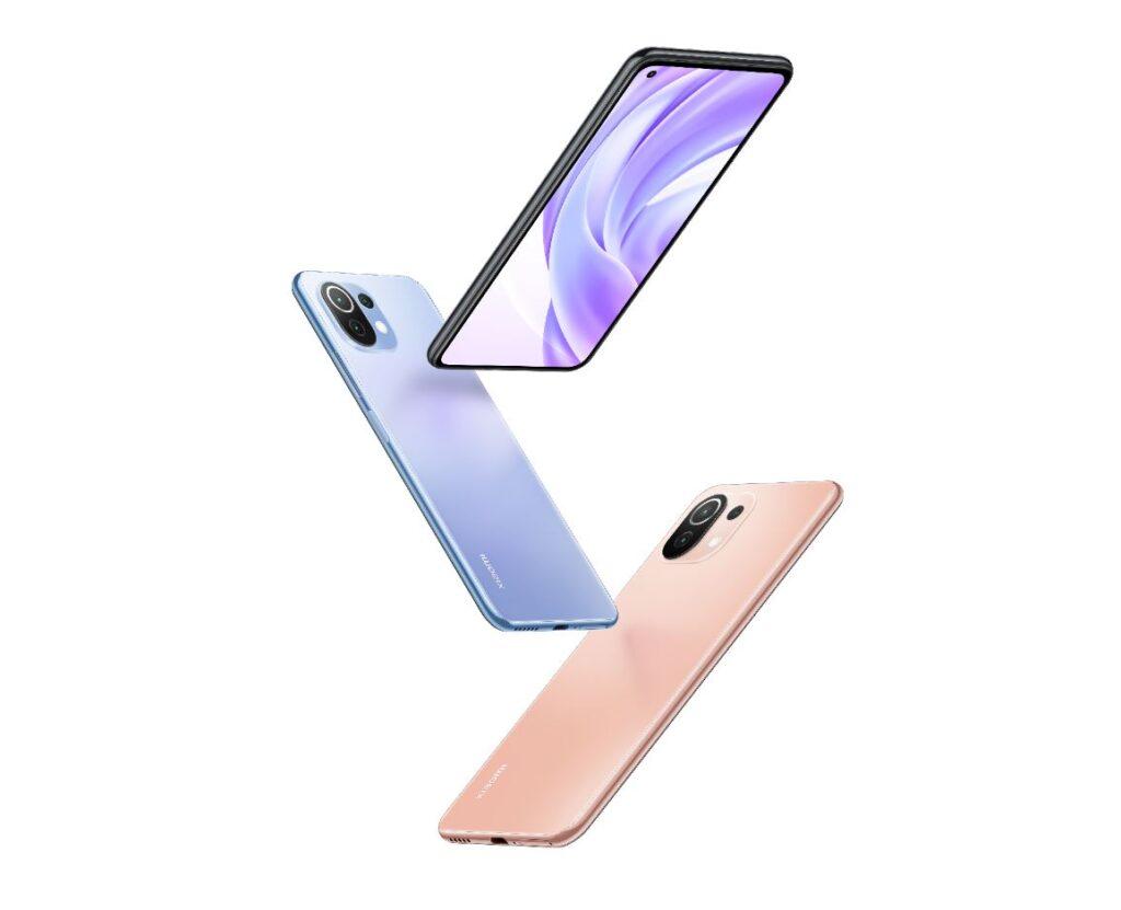 Xiaomi Mi 11 Lite phone drop look
