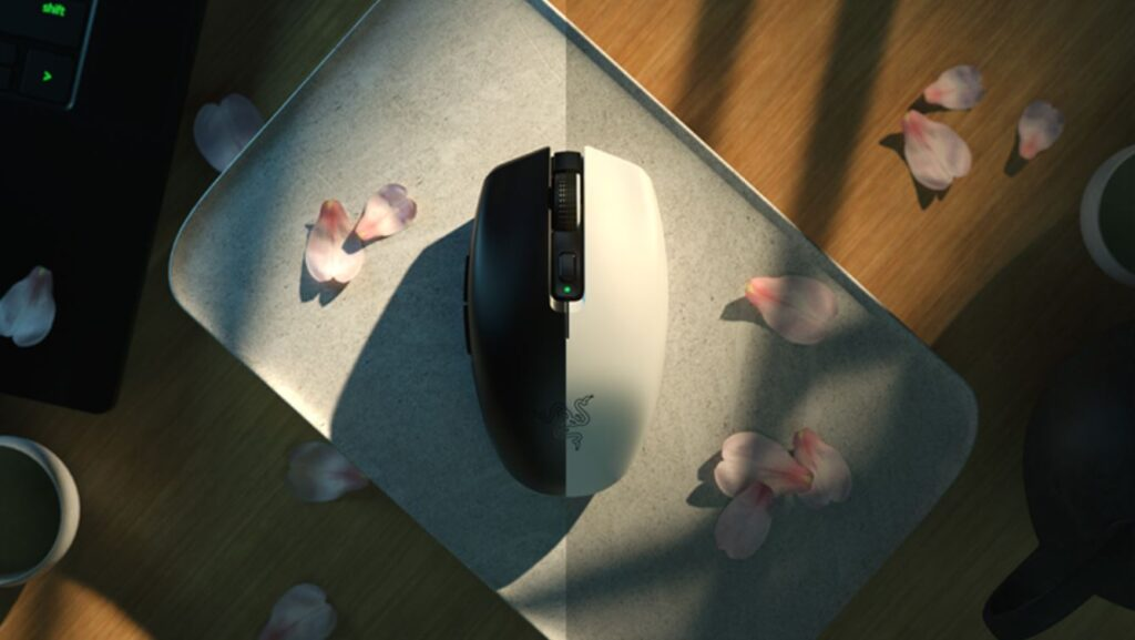 Razer Orochi V2 wireless mouse black and white