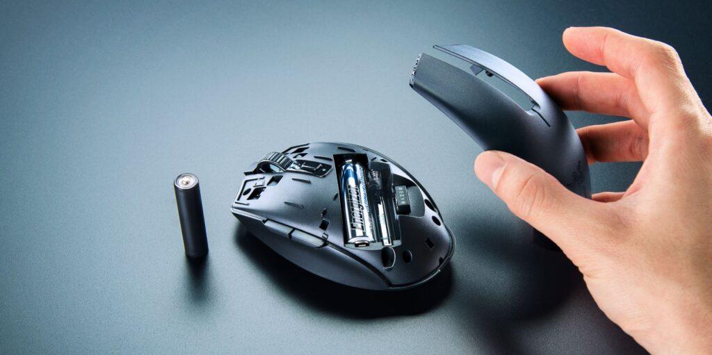 Razer Orochi V2 wireless mouse battery