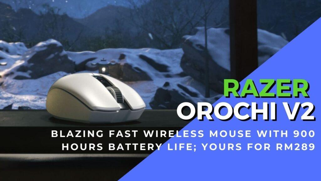 Razer orochi v2 wireless mouse cover
