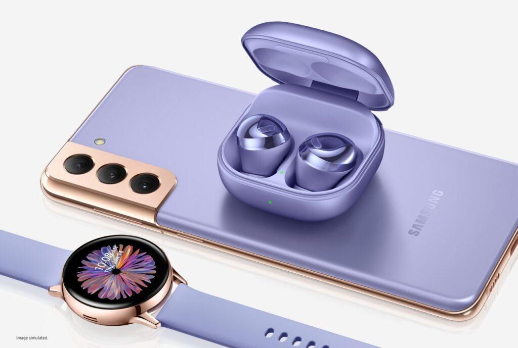 Samsung Galaxy S21 Violet Edition Bundle cover