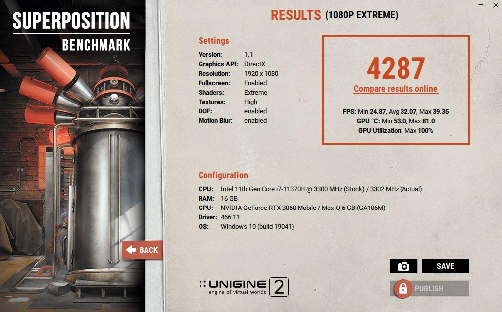 ASUS TUF Dash F15 FX516PM Review super p 1080p extreme