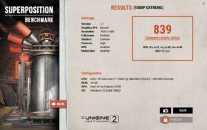 Dell Latitude 7320 2-in-1 Review 1080p extreme unigine