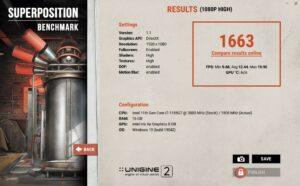 Dell Latitude 7320 2-in-1 Review 1080p high unigine