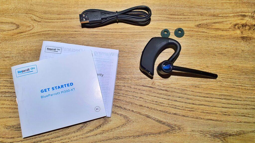 BlueParrott M300-XT Review box contents