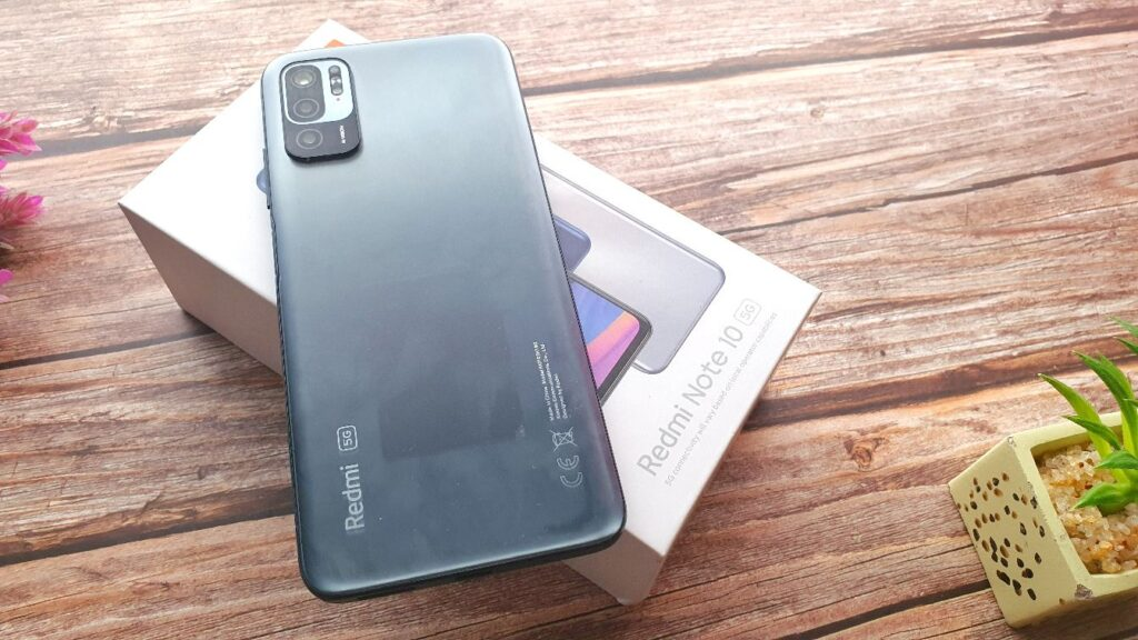 Xiaomi Redmi Note 10 5G review rear view