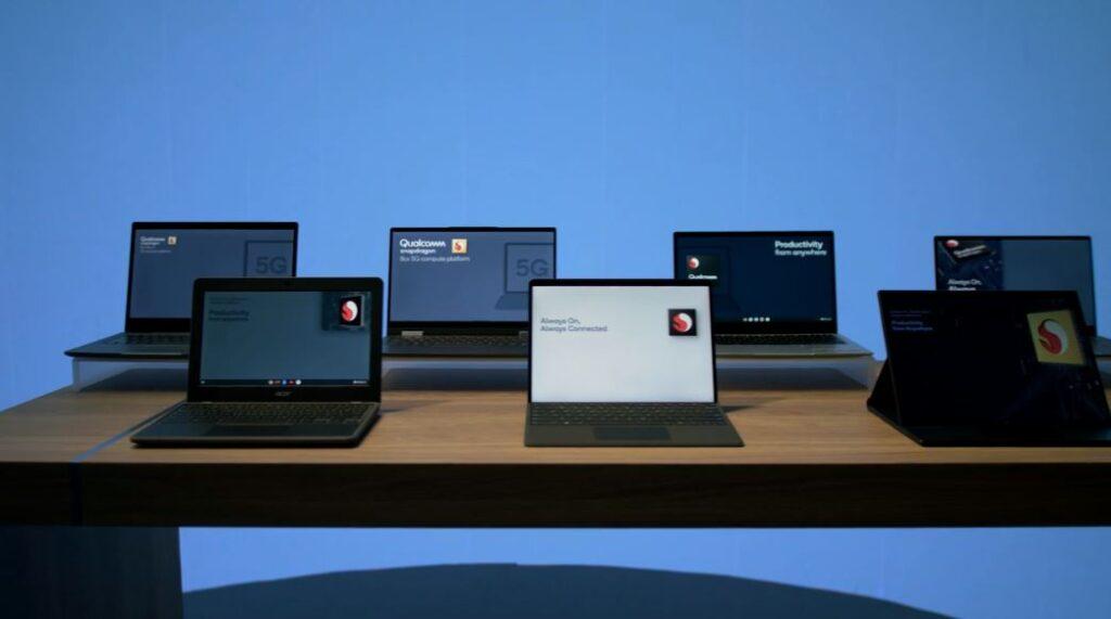 Snapdragon 7c Gen 2 laptops