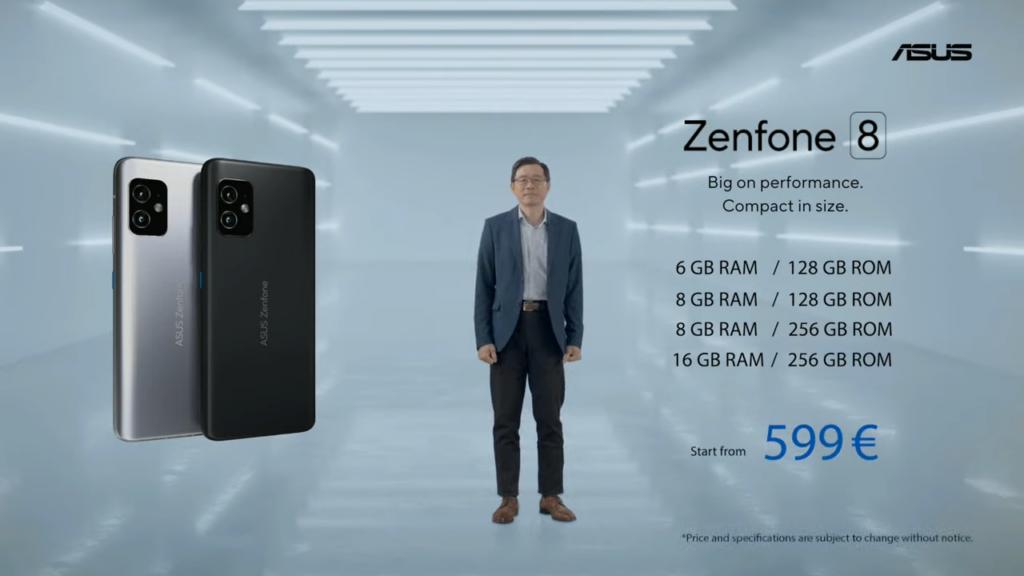 zenfone 8 price