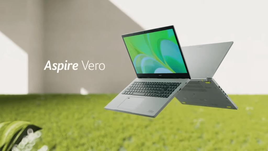 Acer Aspire Vero laptop hero